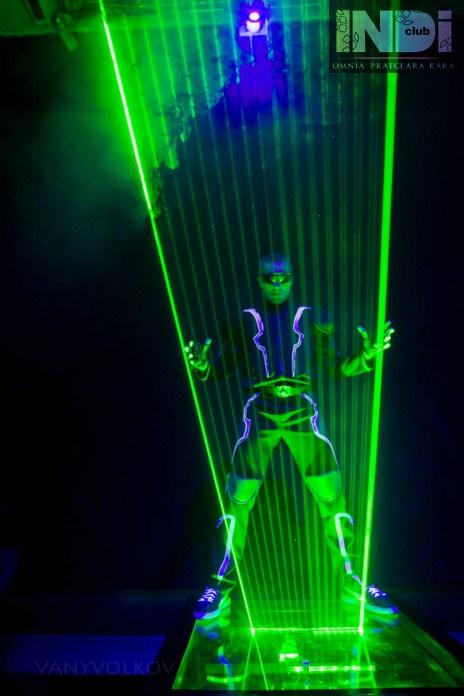 Как сделать лазерное шоу своими 656